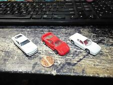 LOT 3 1:87 HO Car Monogram Mini Exacts Loose FERRARI F-40 512 MUSTANG MACH 1