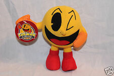 "NEW WITH TAGS  PAC-MAN 7"" PLUSH NAMCO 25TH ANNIVERSARY"