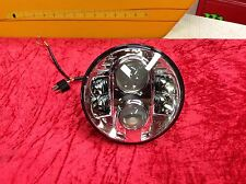"97-13 Harley Touring Street Ultra Electra Glide 7"" LED Daymaker Head Light Lamp"