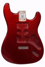EDEN Paulownia Wood Body Replacement HSH for Strat Guitar Metallic Red