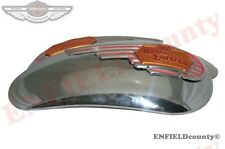 PETROL TANK SIDE PANEL PLATE+MONOGRAM BADGE FOR ROYAL ENFIELD BULLET @ ECspares
