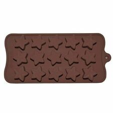 Silicone Assorted Shaped Mold For Chocolate And CandleMaking : Star