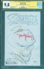 Spawn 150 CGC 2X SS 9.8 Todd McFarlane Jim Lee Sketch Variant Top 1 new Movie