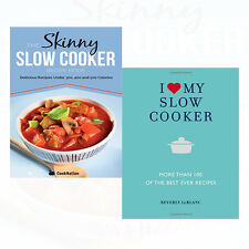 I Love My Slow Cooker 2 Books Collection Set Skinny Slow Cooker Recipe Book New