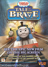 Event Promo Flyer: Thomas & Friends Tale Of The Brave: The Movie (Vue Cinemas)