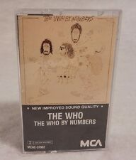 The Who by Numbers : The Who  (Cassette, 1975 Canada)