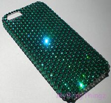 EMERALD Crystal Rhinestone Bling Back Case for iPhone 5 with Swarovski Elements