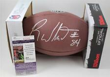 Roddy White Signed Wilson Football JSA COA Atlanta Falcons