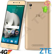 """ZTE Blade a452 5"""" IPS Oro Sbloccato SIMFREE 4g LTE Android 5.1 TELEFONO SMARTPHONE"""