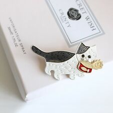 Fashion Cute Cat Brooch Pin For Women Girl Suit Hats Clips Jewelry Gift