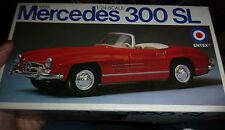 ENTEX 1959 MERCEDES BENZ 300 SL 1/24 MODEL CAR MOUNTAIN OPEN