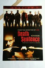 DEATH SENTENCE KEVIN BACON COVER ART 5x7 PAPER FLYER MINI POSTER (NOT A movie )