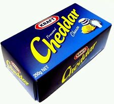 IMPORTED KRAFT PROCESSED CHEDDAR CHEESE BLOCK -  250 GRAMS,  100 % Cow's Milk..
