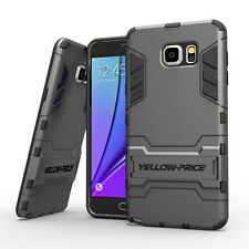 2 in1 Hybrid TPU Hard Armor Case Stand Cover Shell for Samsung Galaxy Note 5