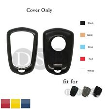Paint Metallic Color Shell Cover fit for Cadillac Smart Remote Key Case 0771 BK