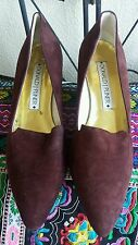 Donald j pliner size 39 and a half ,brown ,(? Leather) hand made shoes.