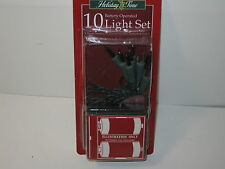 Battery Operated 10 Christmas Light Set New