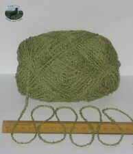 95g ball Green Boucle 100% Pure British Breed Wool double knitting dk yarn EF804