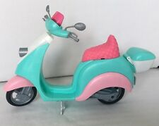 Barbie Collector Model Muse Poppy Parker Roller Vespa Zubehör