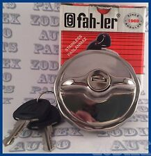 Locking Stainless Steel Fuel Tank Filler Cap Gas Cap NEW OEM