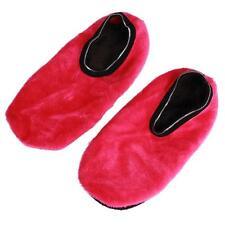 Unisex Women Men Indoor Slipper Non-Slip Socks Fleece Gripper Fluffy Slippers LH