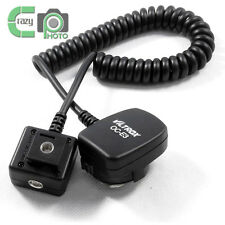Viltrox OC-E3 1m E-TTL Off Camera Shoe Cord for Canon Flash 430EX 580EX 5DIII 7D