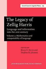 2002-11-22, The Legacy of Zellig Harris: Language and information into the 21st