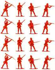 Call to Arms 1879 British Infantry 24th Foot - 16 red 54mm plastic toy soldiers
