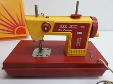 "Vintage  ""MISS DURHAM"" CHILD'S TOY SEWING MACHINE - Made In Japan"