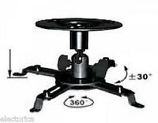 ADJUSTABLE 360^  PROJECTOR CEILING MOUNT BRACKET HD TV LCD 3D
