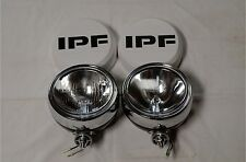 IPF 900 ROUND 4WD SPOT DRIVING FLOOD LIGHTS + FREE CLEAR COVERS ~BRAND NEW~