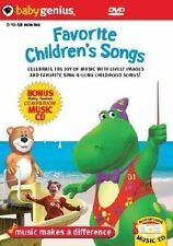 Baby Genius - Favourite Children's Songs (DVD, 2007)