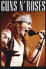 Guns 'n' Roses Poster - Axl Rose - New Music poster LP2097
