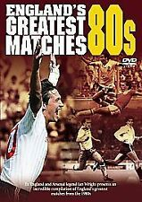 FOOTBALL ENGLAND ENGLAND'S GREATEST MATCHES OF THE 80'S 1980'S DVD SEALED