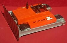 Extremely Rare Sears Exclusive SUPER 1 SPACE BULLDOZER battery-op tin toy Japan