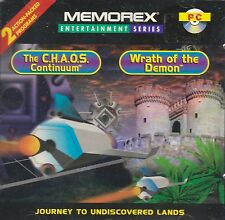 CHAOS CONTINUUM / WRATH OF DEMON - (CD-ROM) 2 PC GAMES, BRAND NEW FACTORY SEALED