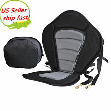 Deluxe Adjustable Safe Padded Kayak Seat with Detachable Back Pack SHIPFREE TOP