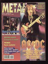 METAL SHOCK 203/1995 AC/DC SKUNK ANANSIE IRON MAIDEN BADLANDS VANDEN PLAS PRIMUS