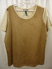 Women's Lauren Raph Lauren Plus Size   Shirt  1X