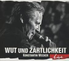 Konstantin Wecker - Wut und Zärtlichkeit-LIVE     - 2xCD NEUWARE
