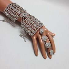 Arm Bracelet With Adjustable Ring