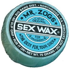 Drums Sticks Mr. Zog's Sex Wax for drum sticks no-slip grip control NEW