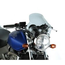 240AK WINDSHIELD UNIVERSAL KAPPA MOTORCYCLE WITHOUT FAIRINGS COLOR SMOKE