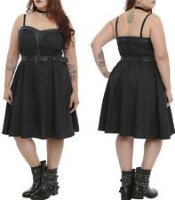 0X XL TRIPP black SWEETHEART rockabilly Pin Up gothic SWEETHEART torrid DRESS