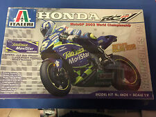 Italeri Honda Rc211v Team Telefonica Movistar Model Kit No4624 Escala 1:9, Nuevo