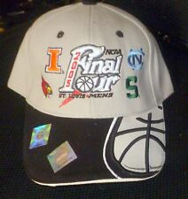 NCAA Final Four Embroidered Basketball Hat Cap 2005 St Louis VG+
