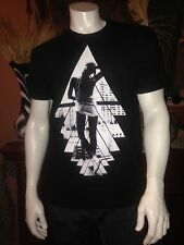 New~sz~L~RIOT SOCIETY~Sexy Girl~Mens T-Shirt~Black color 100% Cotton