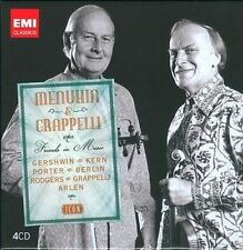 Friends in Music - Menuhin and Grappelli, Set 4CD, New Music