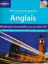 LONELY PLANET - PETITE CONVERSATION AUDIO ANGLAIS / 99 PHRASES SUR CD