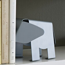 Design Ideas Hannibal Elephant Modern Silver Metal Decorative Bookends Art Gift